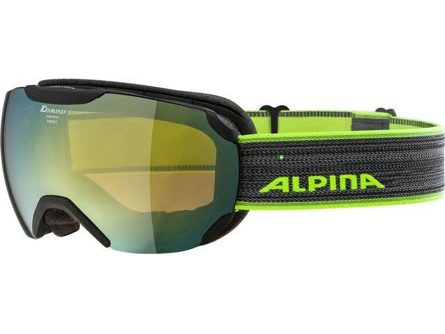 Alpina Pheos S MM Gogle czarny